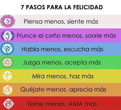 7 pasos para la Felicidad.