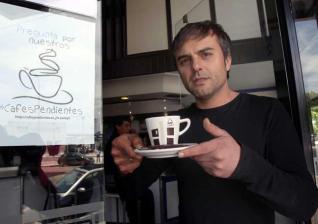"""La cafetería """"Max"""", en Vigo, primera en sumarse a la iniciativa."""