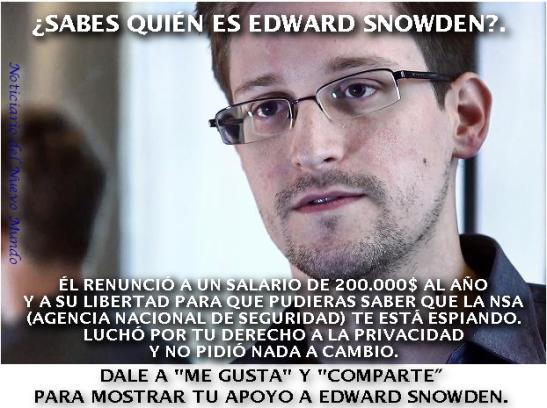 Más info sobre Edward Snowden.