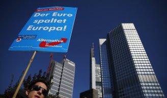 El Euro divide Europa.